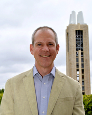 Vice Provost for Faculty Development, J. Christopher Brown