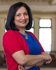 Provost and Executive Vice Chancellor Neeli Bendapudi
