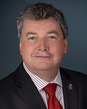Simon Atkinson, Vice Chancellor for Research